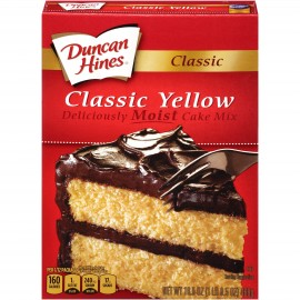 Duncan Hines Classic Yellow